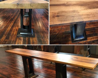 Reclaimed American Chestnut Bar Tops, Island Tops And Counter Tops (per Sq  Foot)