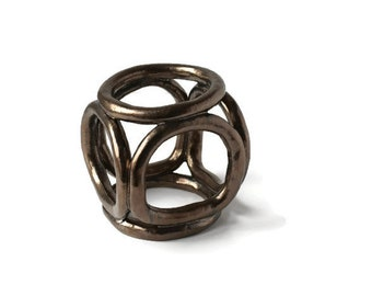 Ceramic Sculpture, Minimalist Sculpture, Abstract Sculpture, Abstract Small Art, Modern Sculpture, 3D Art, Fine Art, Wedding Gift, Jubilee