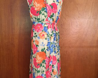 dagger collar vintage shift dress