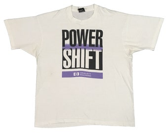 Vintage90s Power Shift hewlett packard /HP Size.XL FreeShipping.