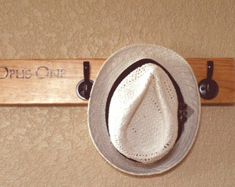 Opus One Wine Crate Coat and Hat Rack