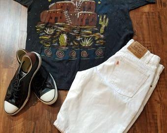 Southwestern Hand Decorated Shirt