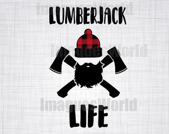 lumberjack  SVG , lumberjack SVG, lumberjack Clipart, Cut Files For Silhouette, Files for Cricut, lumberjack Vector, Dxf, lumberjack Decal