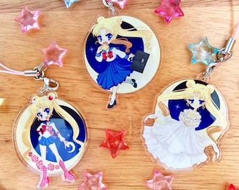 Sailor Moon Charms