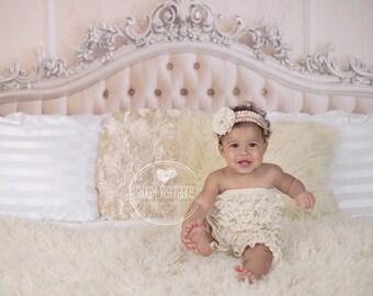 Instant Download Baby Toddler Child Boudoir Photography Prop Digital Backdrop for Photographers - Victorian Bed  Digital Backdrop
