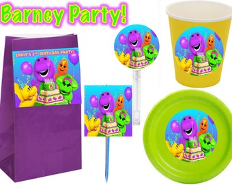 Barney and friends Party 12pcs.