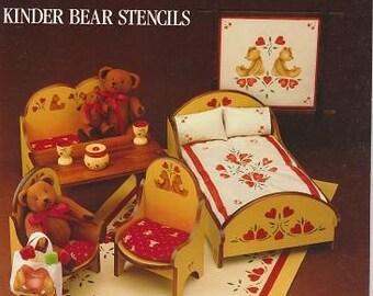 Kinder Bear Stencils, Simply Creative Instruction Book