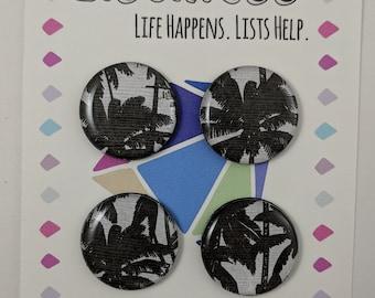 Palm Tree Paradise Magnet Set