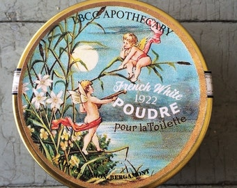 French White Face Powder 1922 Setting Powder Oil Control