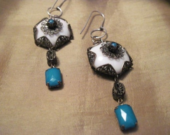 victorian dangle earrings