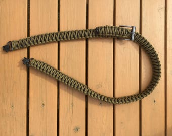 Paracord Gun Sling by Blind Dog Outdoors