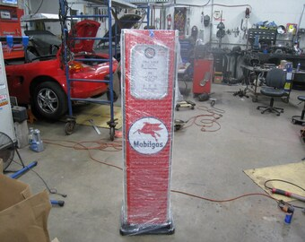 Mobilgas Full Size Hand Crafted Retro Gas Pump  / Designed to Impress New Un-used Condition