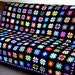 Retro Crocheted Granny Squares BLANKET Afghan BETTY