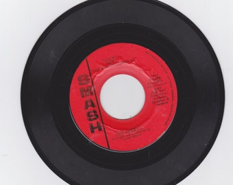"""A  45 rpm record  the angels on smash label   """" my boyfriend's back """" flip side is  """"  love me now """""""