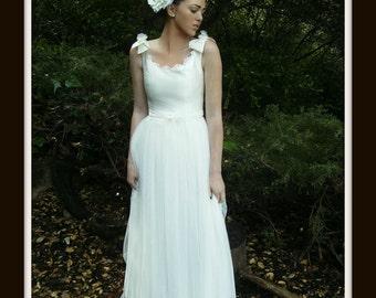 Boho Wedding Dress, Boho wedding gown, boho bridal gown, boho bridal dress JOY