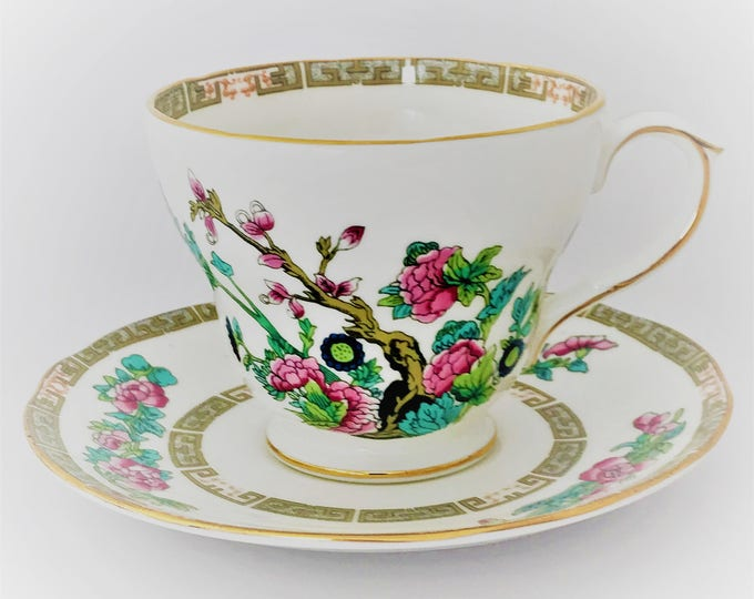 Fine Duchess Cup and saucer English porcelain bone