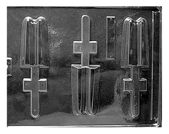 Traditional Twin Ice Cream Fudge Popsicle Mold - Baking Candy Making Party Supplies