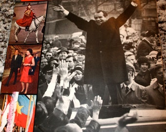 1969 Life Magazine//President Nixon in Berlin//March 7, 1969//The Dutiful Tourist//Vintage Life Magazine