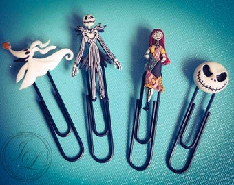 Nightmare Before Christmas planner clips