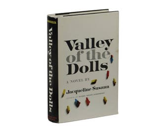 Valley of the Dolls ~ Jacqueline Susann ~ First Edition ~ 1st Printing 1966