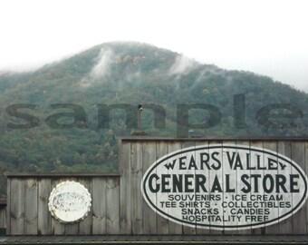 Original Digital Photo Wears Valley Tennessee General Store JPG