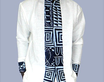 Shirt fabric and black African