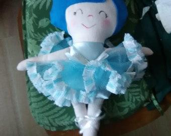 stuffed ballerina doll