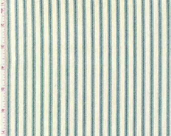 Reserved for Kdove 1 yd navy ticking fabric ship with previous order
