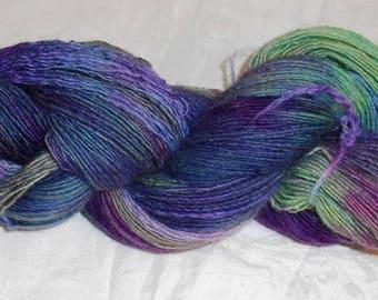 Handspun Wool Singles Yarn CC18/500