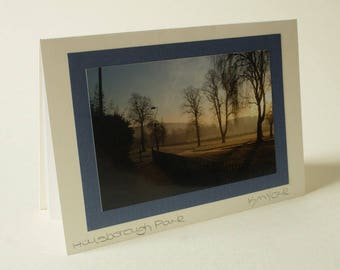 Hillsborough Park, Sheffield Greetings card