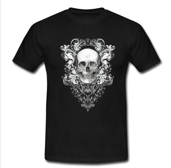 Ornate Skull Tee Shirt