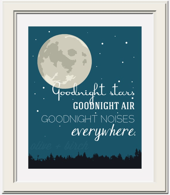 Goodnight Moon Quote Printable