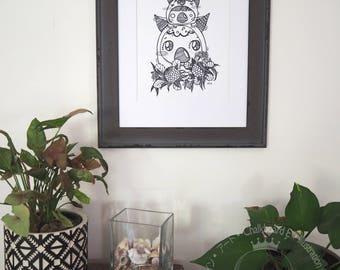 Art Print - Wombat