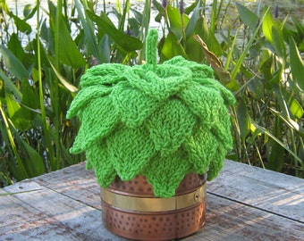 Hand Knit Custom 5-Layer Hop Hat