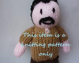 PDF knitting pattern: Simon (The Walking Dead)