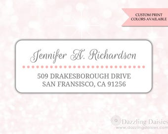 Return address labels (30) - Return address sticker - Adress labels - Address stickers - Wedding return address labels (AW014)
