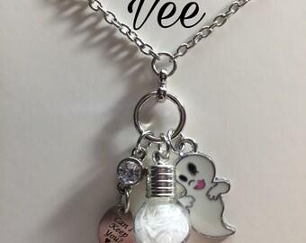 Can i keep you?, Casper bottle necklace