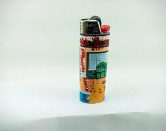 Pokemon Stoned Pikachu, Bulbasaur Custom Lighter