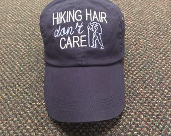 Hiking hair don't care