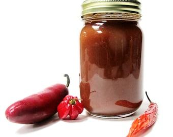 Fiery Hot Fermented Pepper Sauce 16 oz