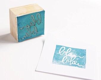 stamp BLA BLA