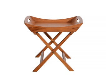 Dansk Teak Tray Table by Jens Quistgaard Danish Modern JHQ