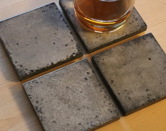 Concrete coasters - Speckle