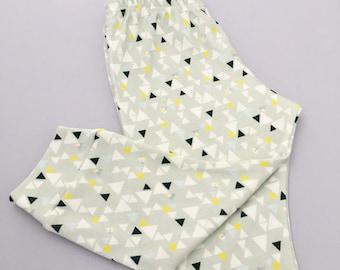 Triangle geo - organic cotton leggings