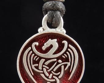 Celtic Dragon Pendant   Celtic Jewelry   Irish Jewelry   Scottish Jewelry   Handcrafted Jewelry   Fine Pewter by Treasure Cast