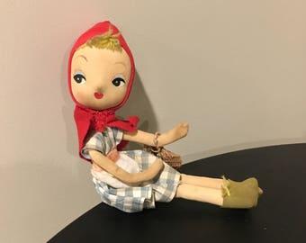 Vintage Christmas elf