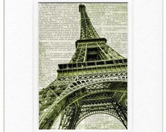 1889 La Tour Eiffel print