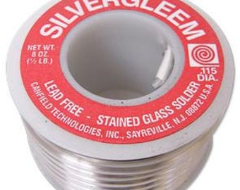 Silvergleem Solder-Lead Free Solder-Silver Solder-1/2 LB Spool-Solder-Jewelry Solder-Solder
