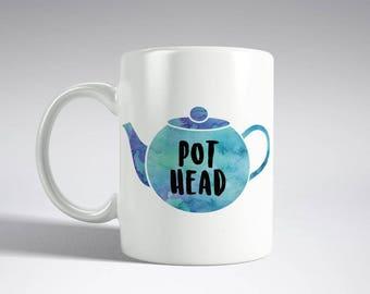 Pot Head Teapot - Mug