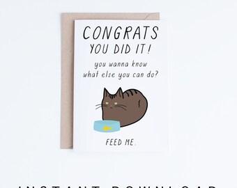 printable high school graduation cards